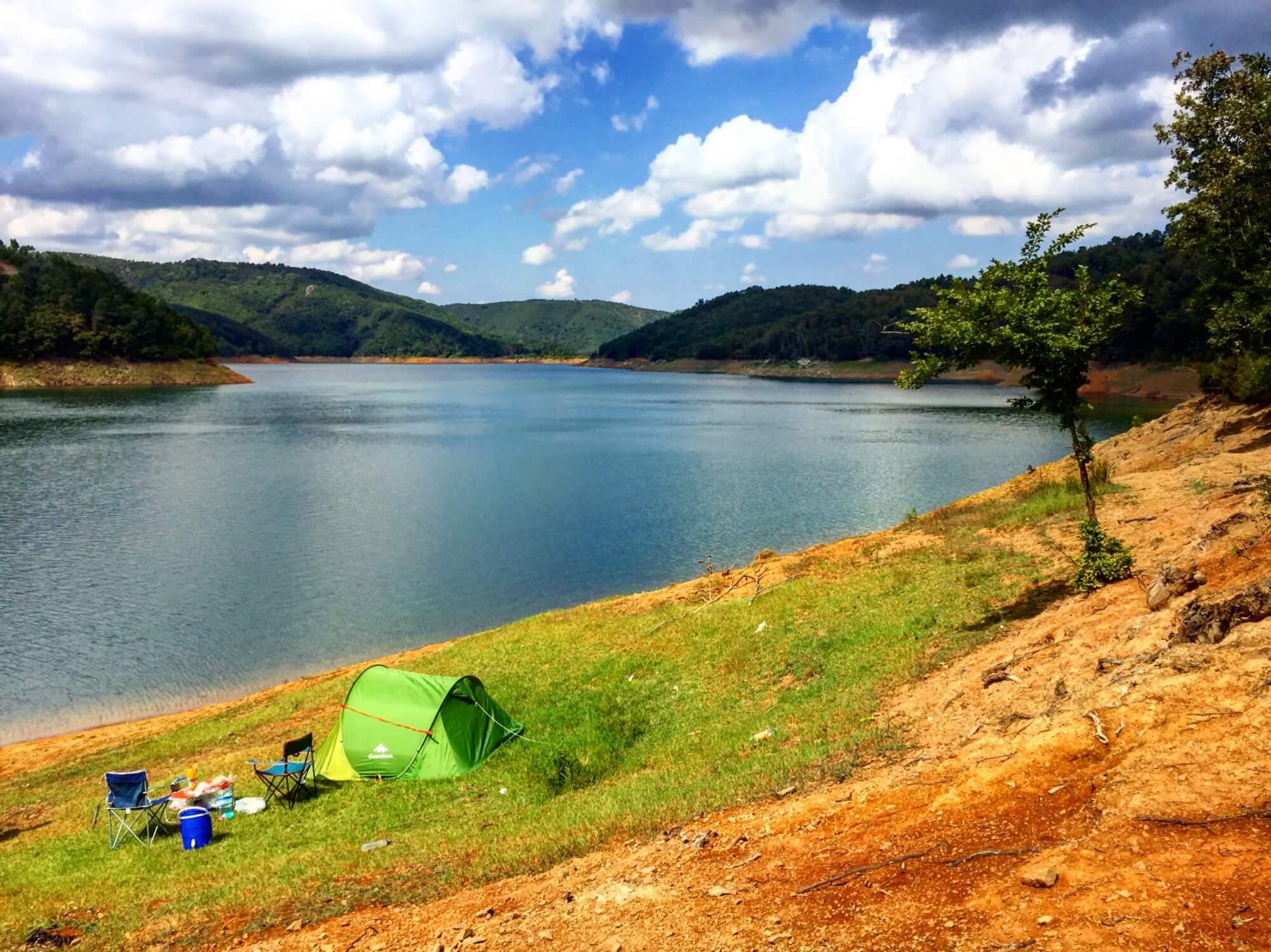 Darlık Barajı kamp alanı - Kamp Yerleri