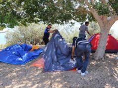 Antalya Kaş'ta Kampçıların Çadırları Zabıta Tarafından Parçalandı