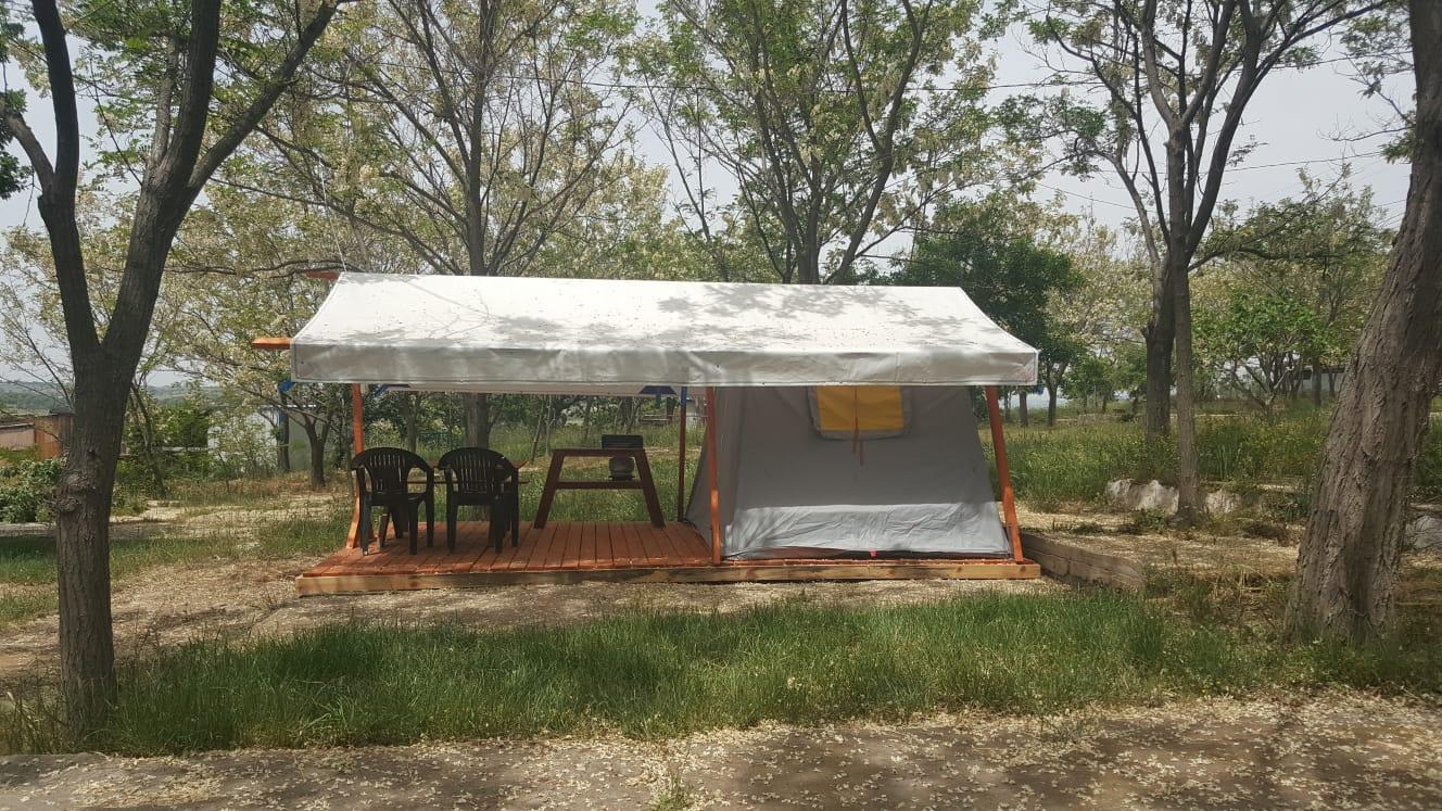 Dama Kamp Alanı Çadır Konaklaması