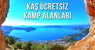 Kaş Ücretsiz Kamp Alanları - Antalya