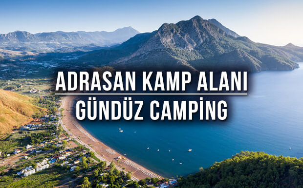 Adrasan Kamp Alanı Tavsiyesi: Gündüz Camping - Antalya