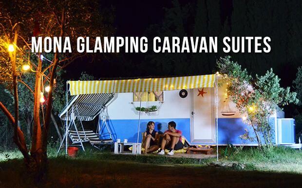 İzmir Sığacık Kamp Alanı: Mona Glamping Caravan Suites