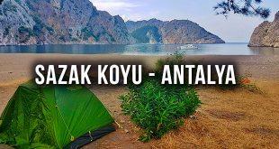 Sazak Koyu Kamp Alanı - Antalya
