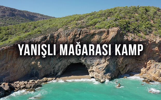 Yanışlı Mağarası Kamp Alanı - Gülnar Mersin