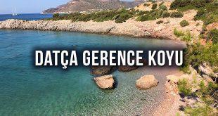 Datça Gerence Akvaryum Koyu Kamp ve Gezi Rehberi