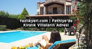 Fethiye Günlük - Haftalık Kiralık Villa - Yazlık Yeri