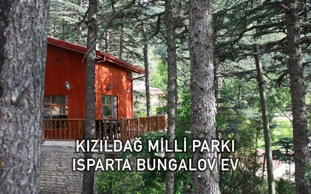 Kızıldağ Milli Parkı Dağ Evi - Isparta Bungalov