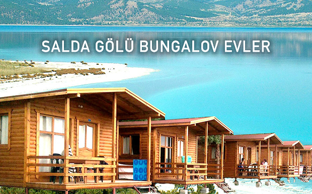 Salda Gölü Bungalov Evler - Salda Kayak Merkezi - Burdur