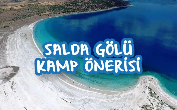 Salda Gölü Kamp Önerisi: Nil Pera Camping