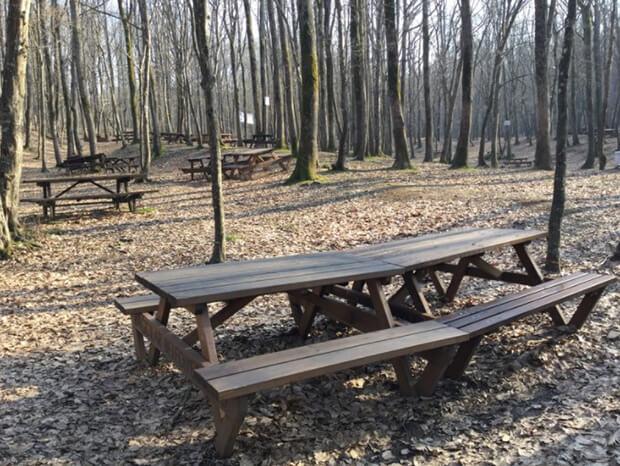 Kirazlıbent Tabiat Parkı'nda Bulunan İmkanlar