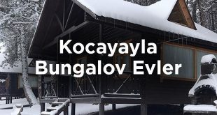 Kocayayla Bungalov Evleri- Bursa Keles