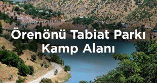 Örenönü Tabiat Parkı Kamp Alanı- Tunceli