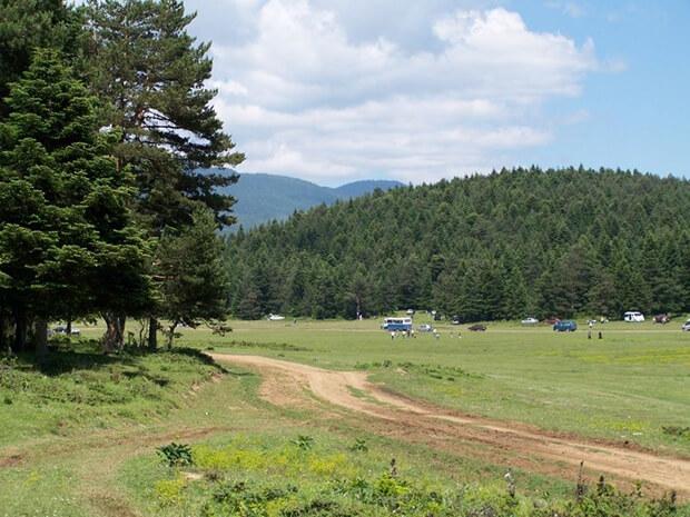 At Yaylası Kamp Alanı İmkanları