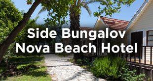 Side Bungalov Önerisi: Nova Beach Hotel