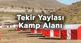 Tekir Yaylası Kamp Alanı- Kayseri Melikgazi
