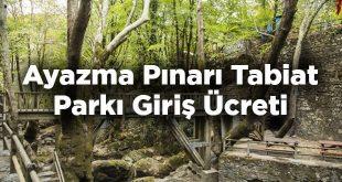 Ayazma Pınarı Tabiat Parkı Giriş Ücreti - Bayramiç