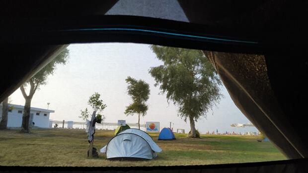 Orange Beach Lara Camping Aktiviteler