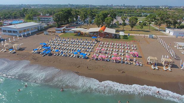Orange Beach Lara Camping Sunulan Hizmetler