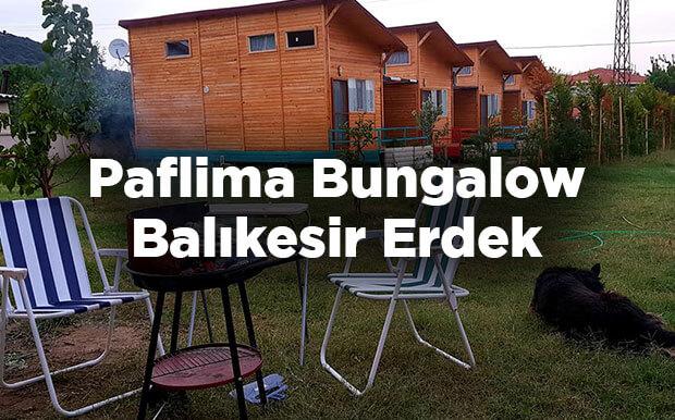 Paflima Bungalow - Balıkesir Erdek