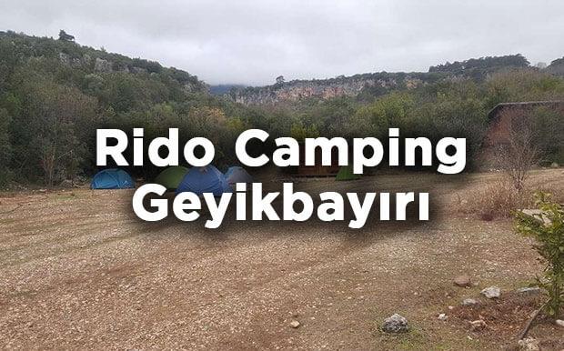 Rido Camping- Antalya Konyaaltı Geyikbayırı