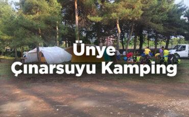 Ünye Çınarsuyu Kamping - Ordu Ünye