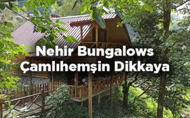 Nehir Bungalows - Çamlıhemşin Dikkaya