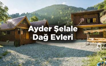 Ayder Şelale Dağ Evleri - Çamlıhemşin Rize