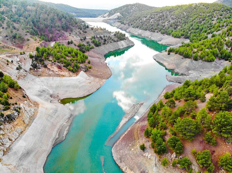 Belkaya Barajı Kamp Alanı