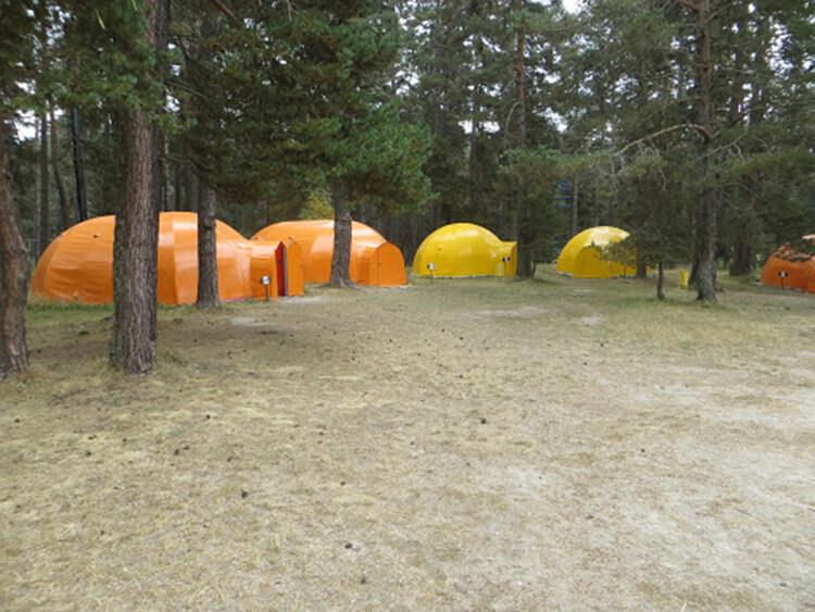 Beşpınarlar Tabiat Parkı Kamp Alanı