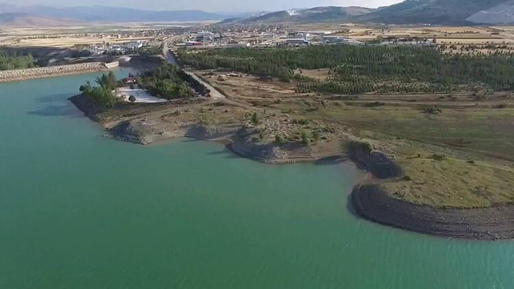 Karamanlı Barajı Kamp Alanı