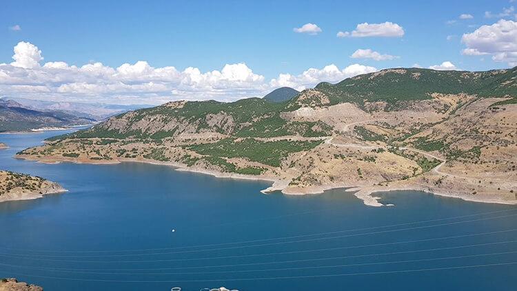Özlüce Barajı Kamp Alanı