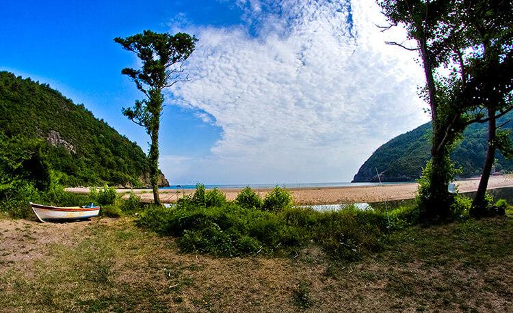 Göçkün Plajı Kamp Alanı