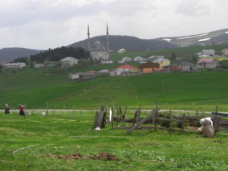 Haçka Obası Yaylası Kamp Alanı