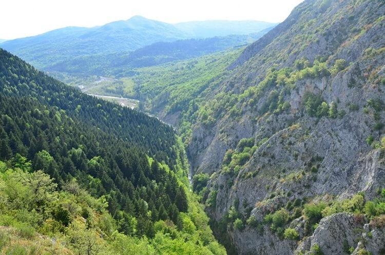 Küre Dağları Milli Parkı Kamp Alanı